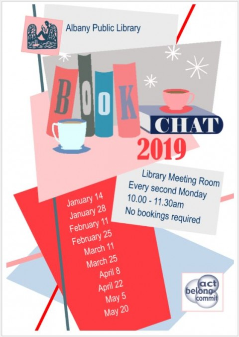 BookChat Moves to Monday
