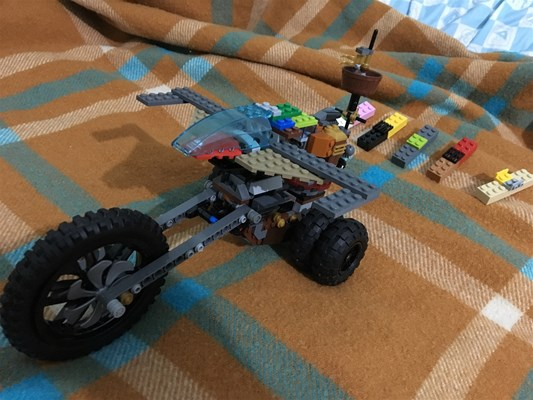 Lego Club - J is for Jet-Jumper