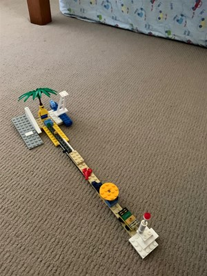 LEGO Club - Ninja Warrior Course