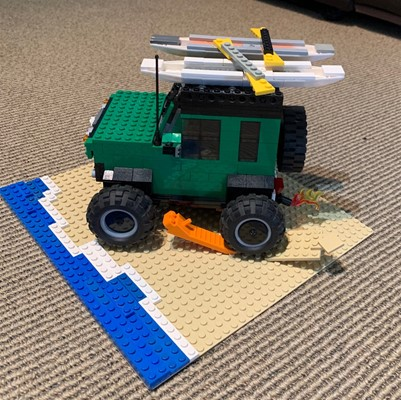 LEGO Club - J is for Jimny (a Suzuki Jimny)