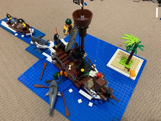 LEGO Club - Hero Time Pirate Ship