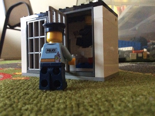 LEGO Club - J is for Jail