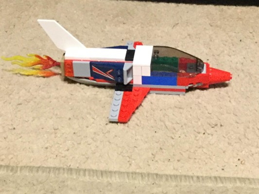 LEGO Club - J is for Jet