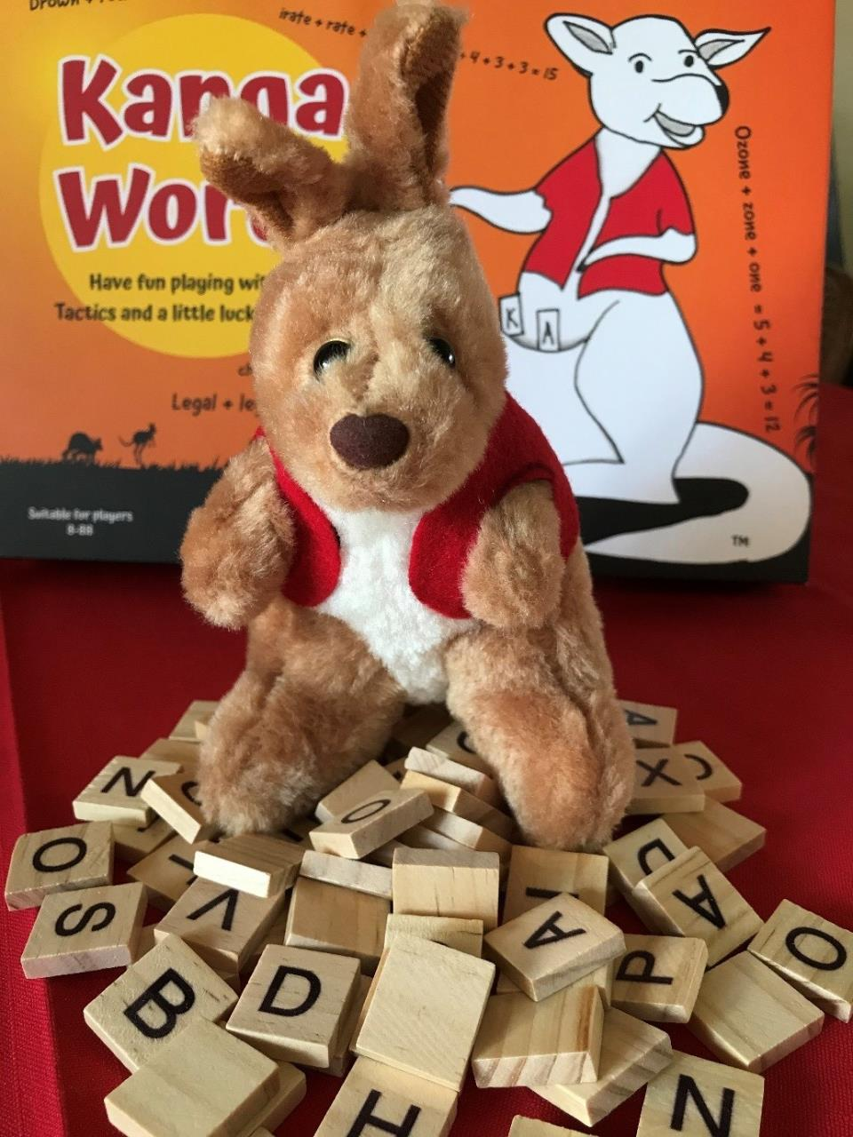 Kanga Words – Board Game launch with Don Titterton