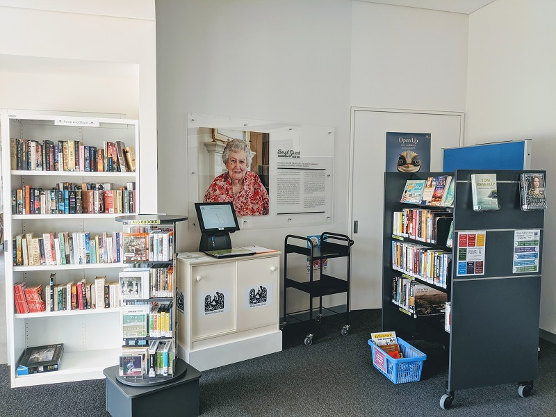 Self Service Library at Beryl Grant Community Centre