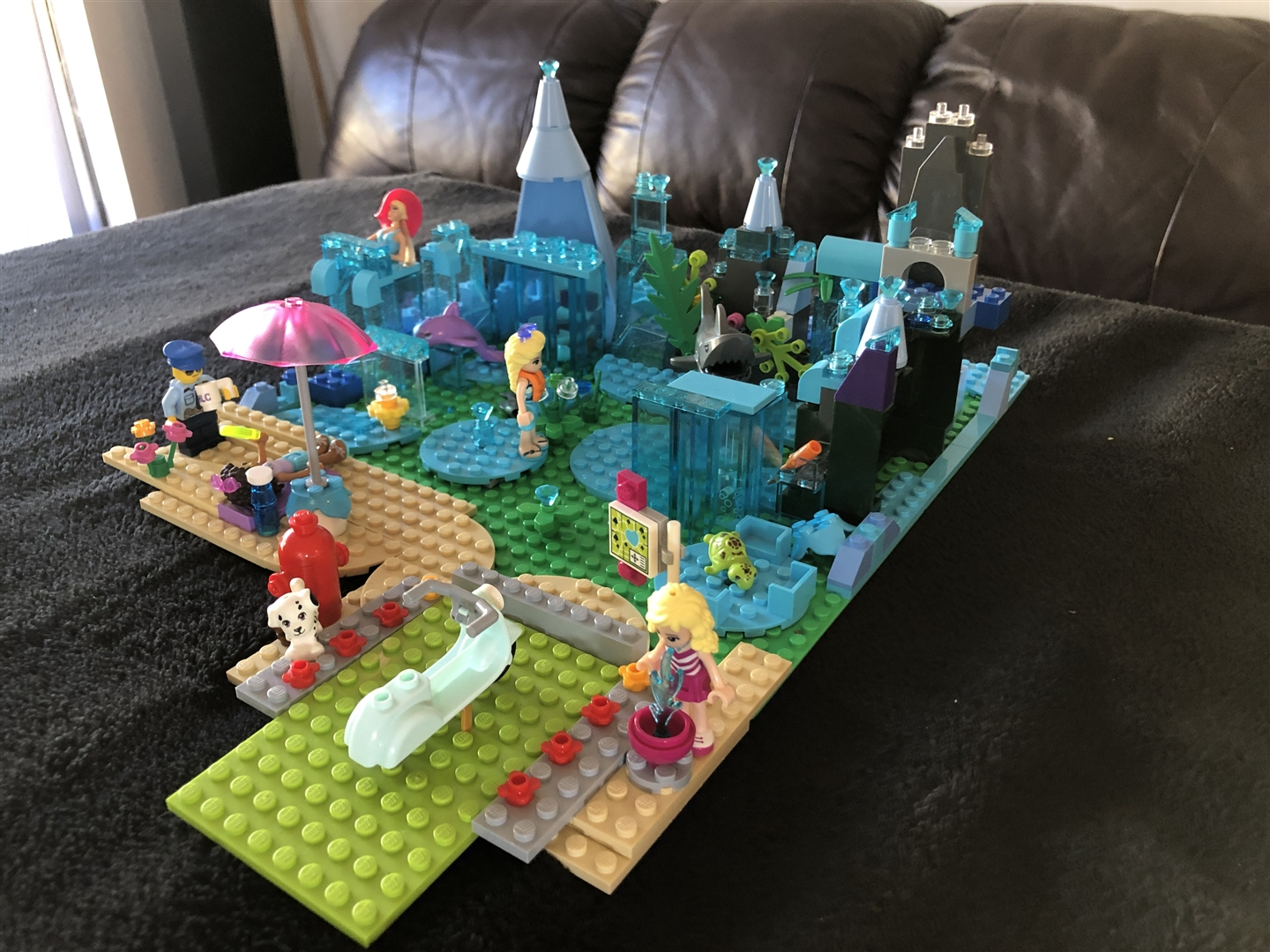 Underwater Holiday Lego Challenge May